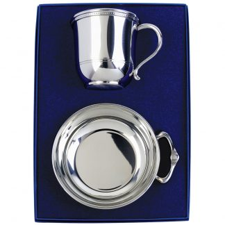 Salisbury Images Cup and Porringer Set