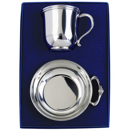 Salisbury Images Cup and Porringer Set