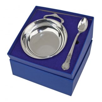 porringer and feeding spoon set