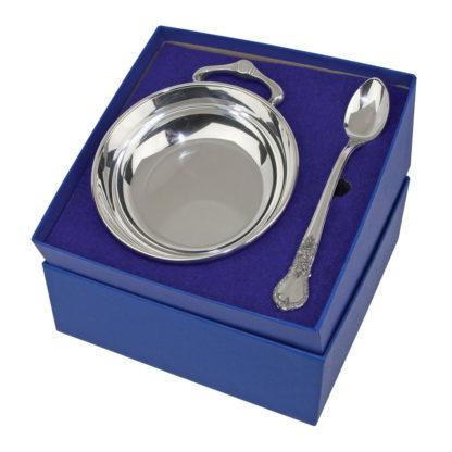 porringer and feeding spoon set