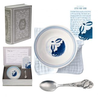 Salisbury Story of You Bowl and Spoon Set Blue Crab