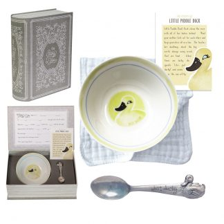 Salisbury Story of You Bowl and Spoon Set Duck