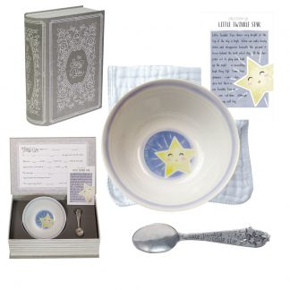 Salisbury Story of You Bowl and Spoon Set Little Star