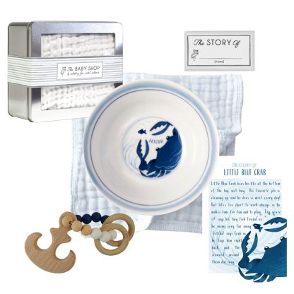 Salisbury Story of You Bowl and Teether Set