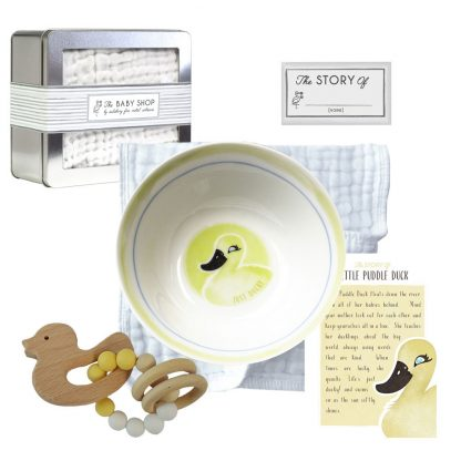 Salisbury Story of You Bowl and Teether Set Little Duck