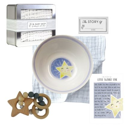 Salisbury Story of You Bowl and Teether Set Little Star