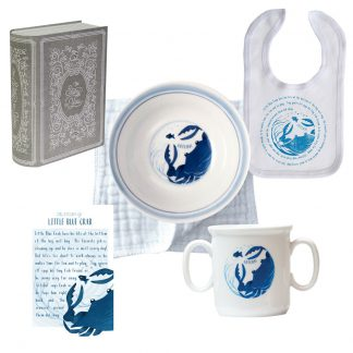 Salisbury Story of You Bowl Bib and Cup Set Blue Crab