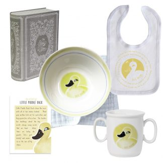Salisbury Story of You Cup Bowl Bib Set Little Duck