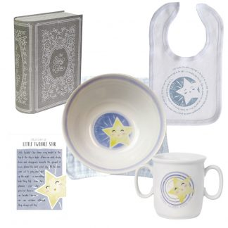 Salisbury Story of You Bowl Bib and Cup Set Little Star