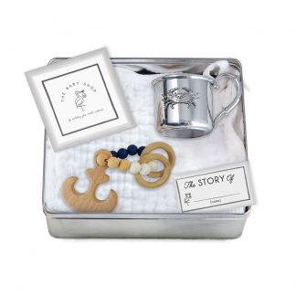 Salisbury Crab Baby Cup and Anchor Teether Set