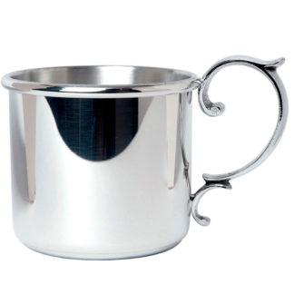 Salisbury Scroll Handle Straight Baby Cup