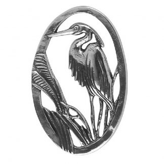 Great blue heron napkin weight