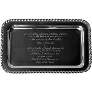 Salisbury Masthead Invitation Tray