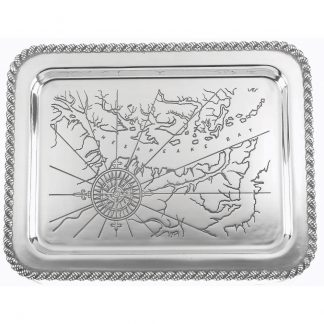 Salisbury Latitudes Large Chesapeake Tray
