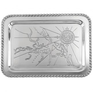 Salisbury Latitudes Large Charleston Tray