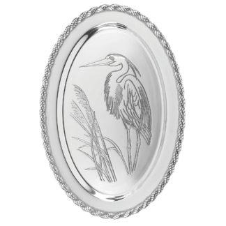 Salisbury Latitudes Large Oval Heron Tray