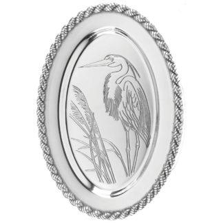 Salisbury Latitudes Medium Oval Heron Tray