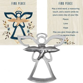 Salisbury Find Peace Ornament and Prayer