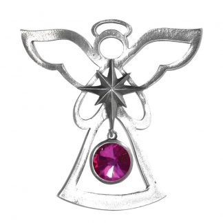 Salisbury Birthstone Angel Ornament October Rose