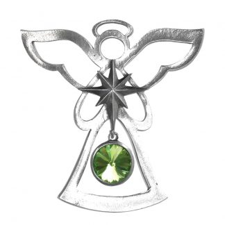 Salisbury Birthstone Angel Ornament August Peridot