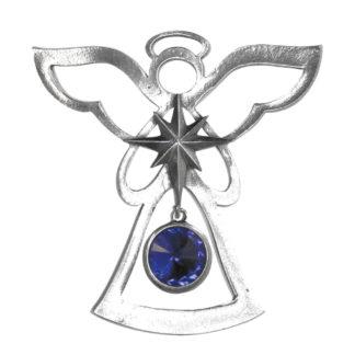 Salisbury Birthstone Angel Ornament September Sapphire