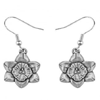 Salisbury March Flower of the Month Earrings