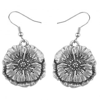 Salisbury August Flower of the Month Earrings