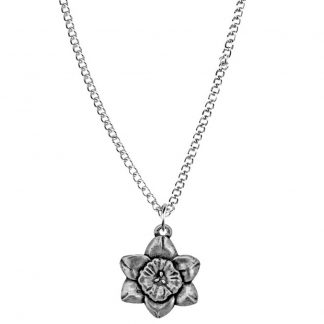 March flower of the month pendant