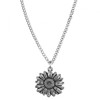 April flower of the month necklace