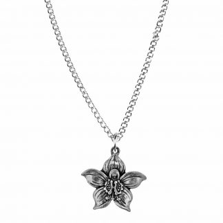 July flower of the month necklace