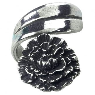 Salisbury January Flower of the Month Ring
