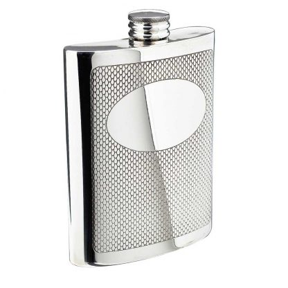 Embossed Flask