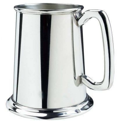 Glass Bottom Tankard