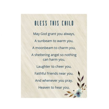 Salisbury Bless This Child Prayer