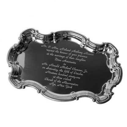 Chippendale with Wedding Invitation