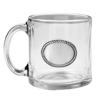 Rope edge coffee mug