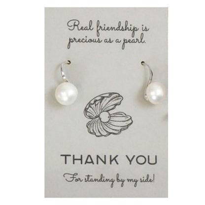 Salisbury Pearl Drop Earrings