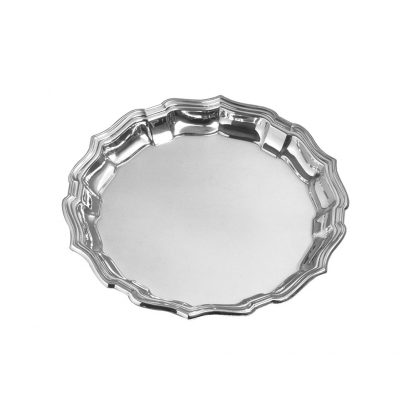 """Salisbury Pewter Chippendale Tray 10"""""""