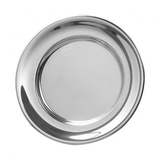 """Images Pewter Plate 7 1/2"""""""