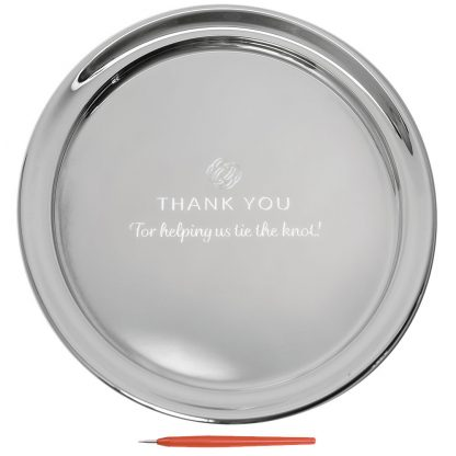Guest Book Tray With Thank You, Large