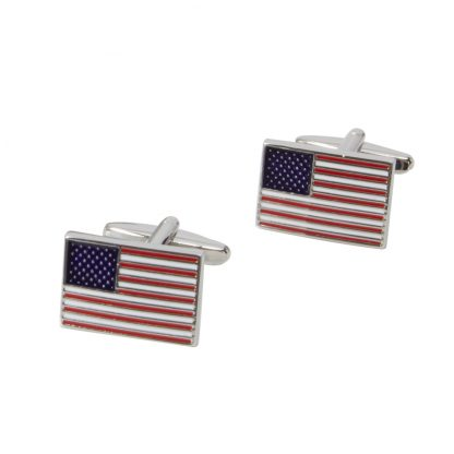 Salisbury American Flag Cuff Links