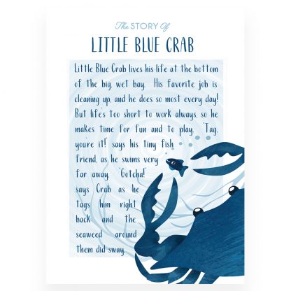 Salisbury Little Blue Crab Story