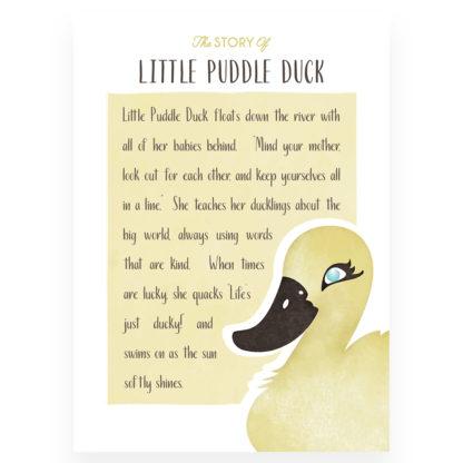 Salisbury Little Puddle Duck Story