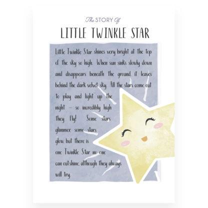 Salisbury Little Twinkle Star Story