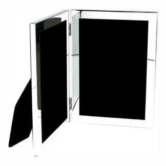 Salisbury Double Silver Frame, 5x7