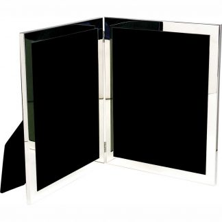 SalisburyDouble Silver Frame, 8x10