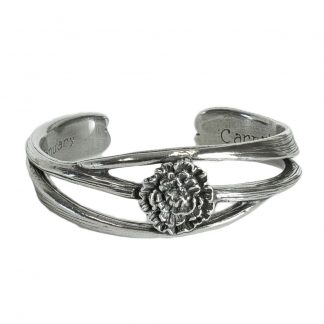 Salisbury January Nouveau Flower of the Month Bracelet
