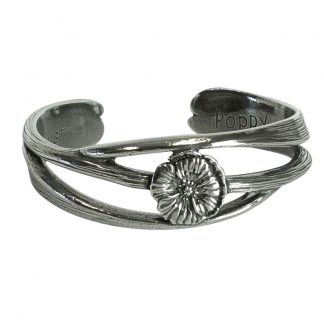 Salisbury August Nouveau Flower of the Month Bracelet