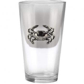 Blue Crab Pint Glass