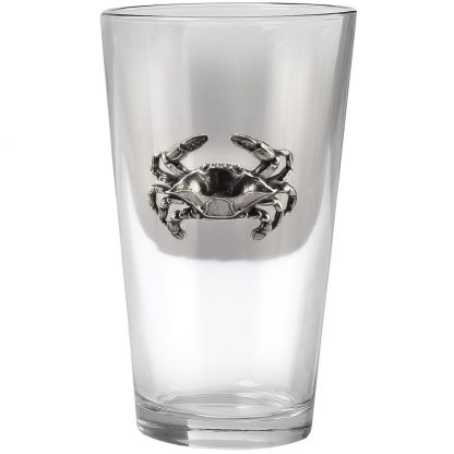 Blue Crab Pint Glass